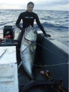 Ascension island 2006 Paolo 112Kg Tuna1