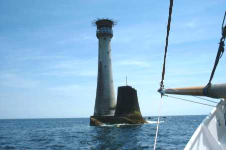 The Eddystone Lighthouse - Picture by Kivas Waters